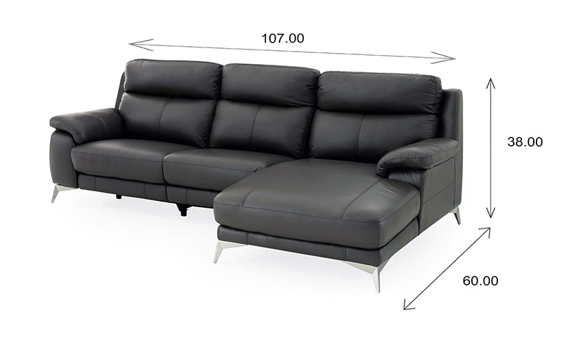 Arbutus Sectional Dimensions