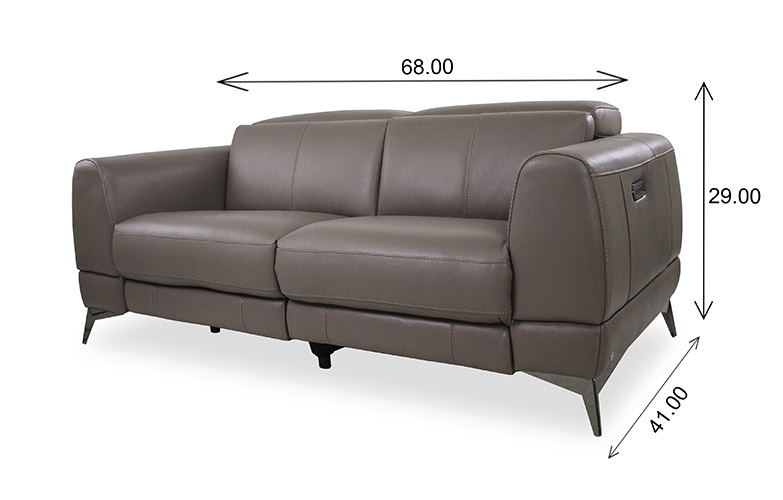 Bidwell Loveseat Dimensions