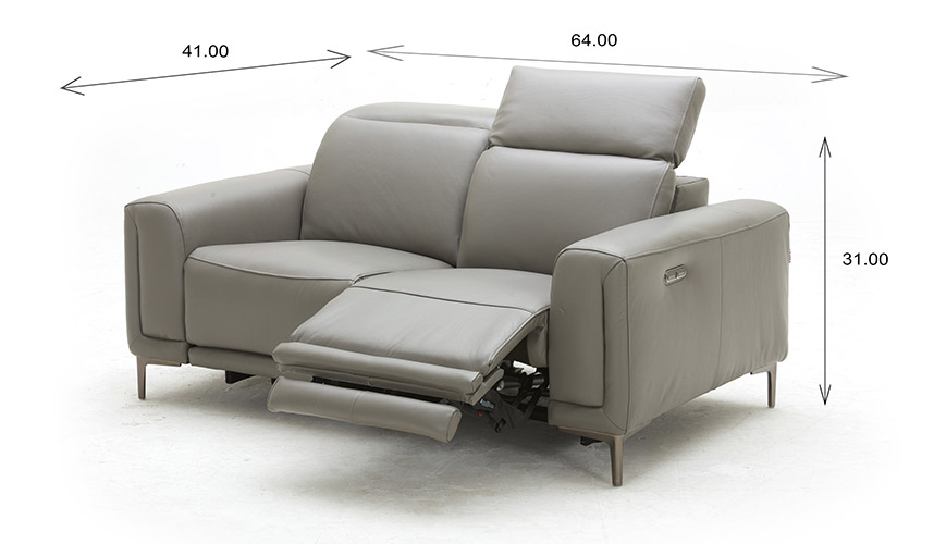 Cardero Loveseat Dimensions