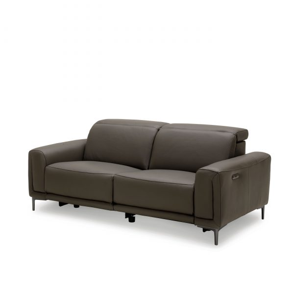 Cardero Sofa in Dark Grey M55, Angle