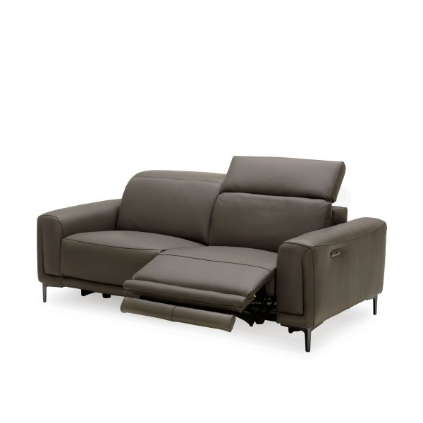Cardero Sofa in Dark Grey M55, Recliner Out