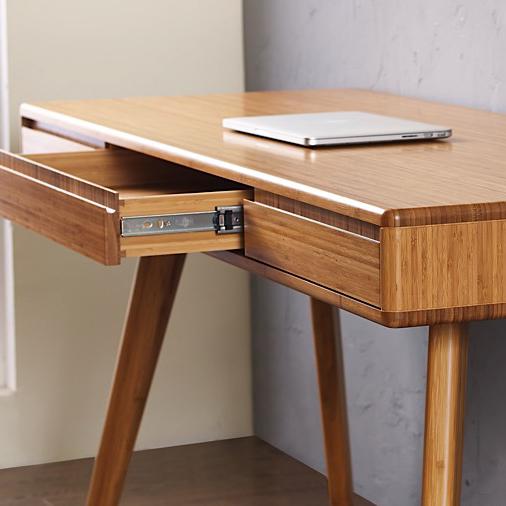 Greenington Currant Desk in Caramel , Drawer Detail