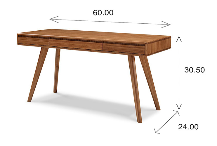 Greenington Currant Desk Dimensions