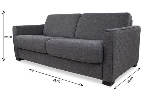 Taylor Sofabed Dimensions
