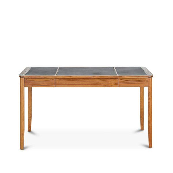 Sun Cabinet FS19 Desk in Teak, Front