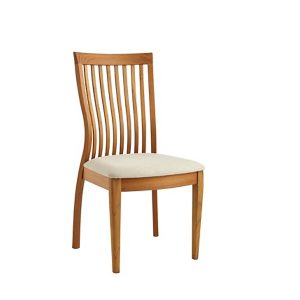 Sun Cabinet FS7 Dining Chair in Teak, Front Angle