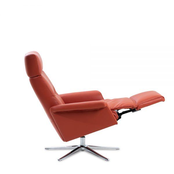 IMG Space SPM3600 Recliner in Trend Brick, Footrest Out