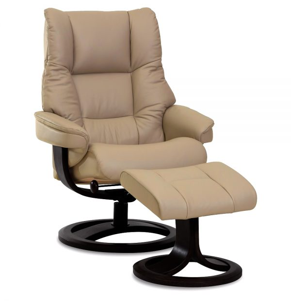 IMG Nordic 60 Recliner in Trend Sand Leather