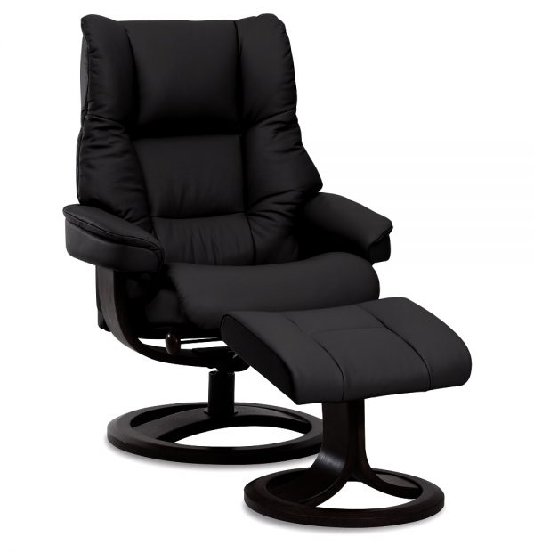 IMG Nordic 60 Recliner in Trend Tuxedo Leather