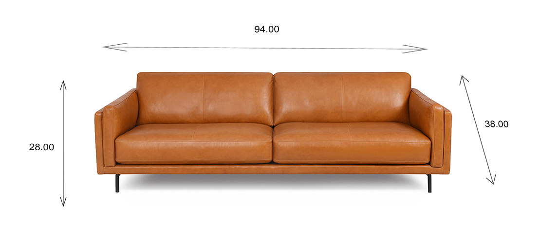 Jesper Sofa Dimensions