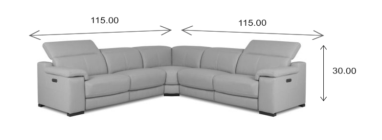 Lucy Sectional Dimensions