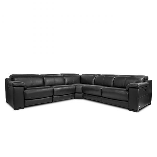Lucy Sectional in Slate, Angle