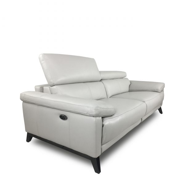 Madison Loveseat in New Club Frost, Angle