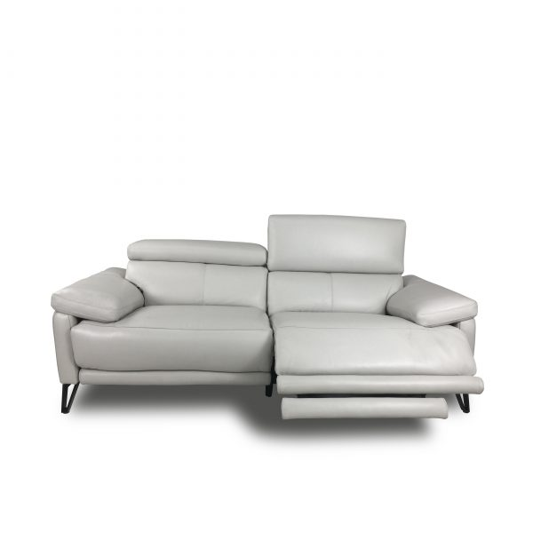 Madison Loveseat in New Club Frost, Reclined