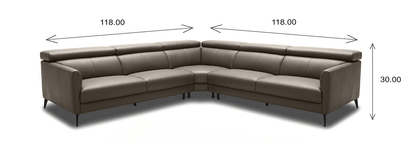 Marki Sectional Large Dimensions