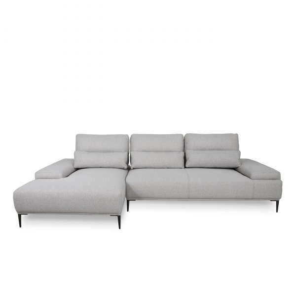 Motion Sectional in Beige, SL, Front