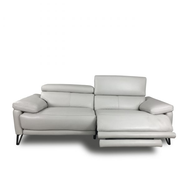 Madison Sofa in New Club Frost, Reclined