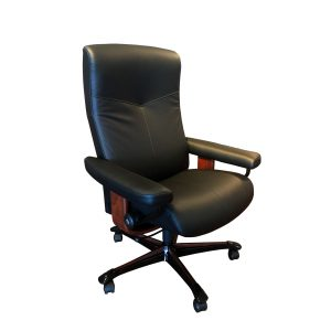 Stressless Dover Office Chair in Paloma Black