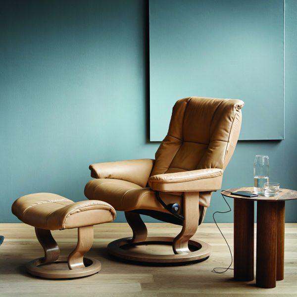 Stressless Mayfair Classic Recliner in Living Room