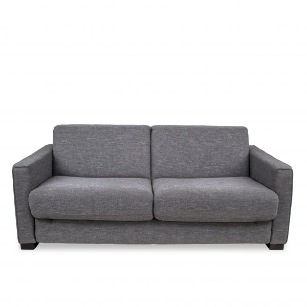 Taylor Sofabed in Grey Fabric, Front