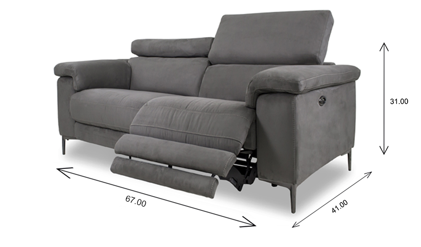 Wallace Loveseat Dimensions