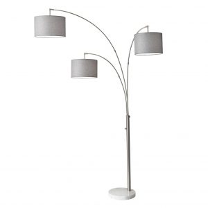 Bowery 3-Arm Arc Floor Lamp