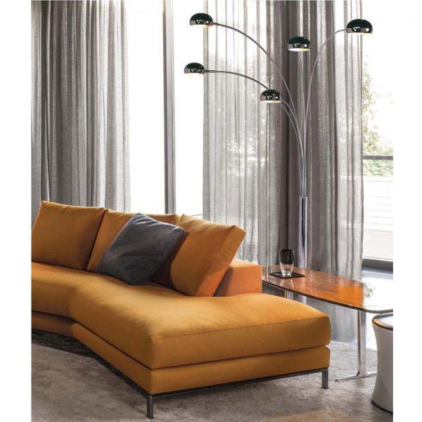 FL160/5 Floor Lamp in Living Room