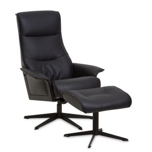 IMG Scandi 1000 Recliner in Trend Tuxedo, On Angle