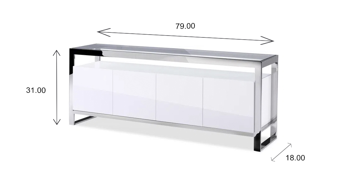 Miami Sideboard Dimensions