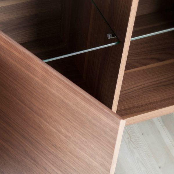 Norman Small Sideboard, Door, Inside
