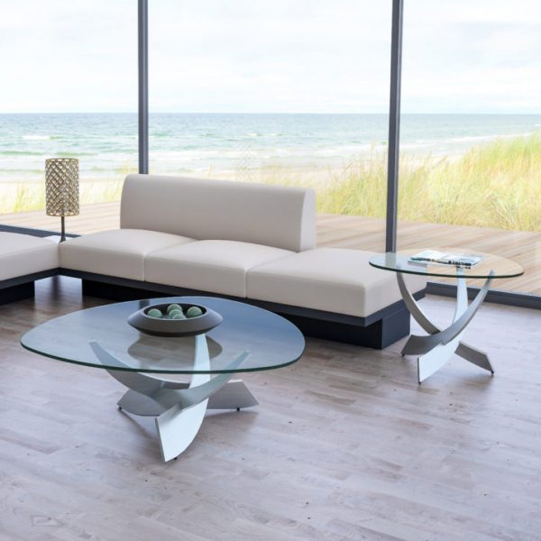Elite Modern Reef Coffee Table and End Table, View