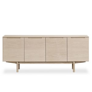 Skovby SM306 Sideboard, White Oak, Front