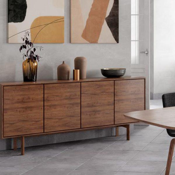 Skovby SM306 Sideboard walnut 4