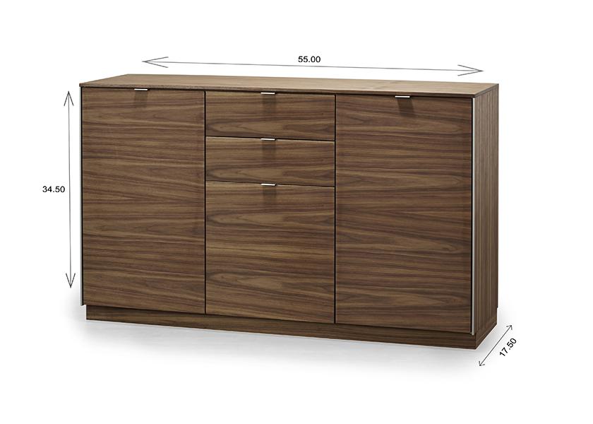 Skovby SM932 Sideboard Dimensions
