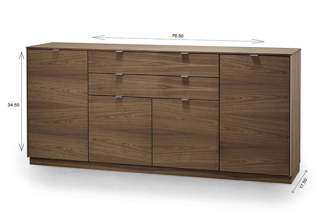 Skovby SM942 Sideboard Dimensions