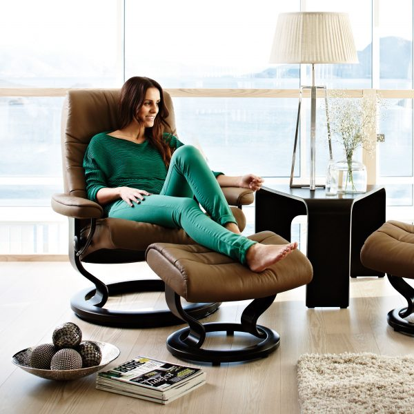 Stressless Opal Classic Recliner and Lady