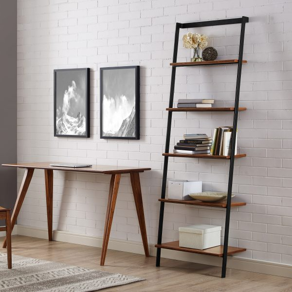 Studio Leaning Shelf on Wall