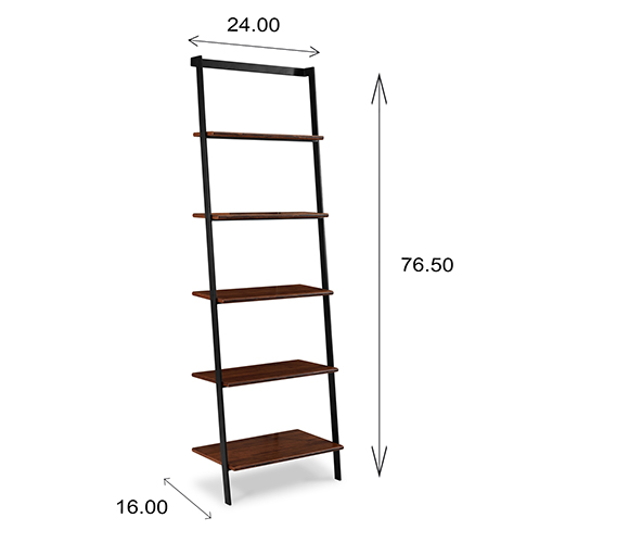 Studio Leaning Shelf Dimensions