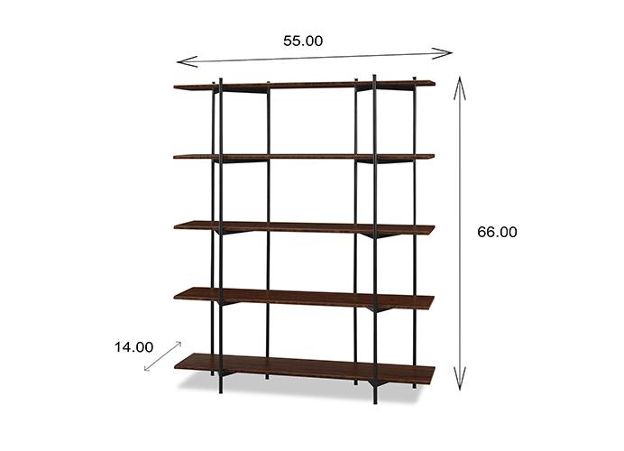Studio Metal Bookcase Dimensions