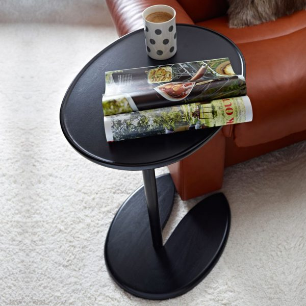 Stressless Ellipse Table and Coffee Cup