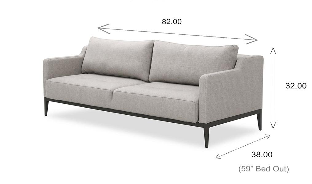 Brockton Sofa Bed Dimensions