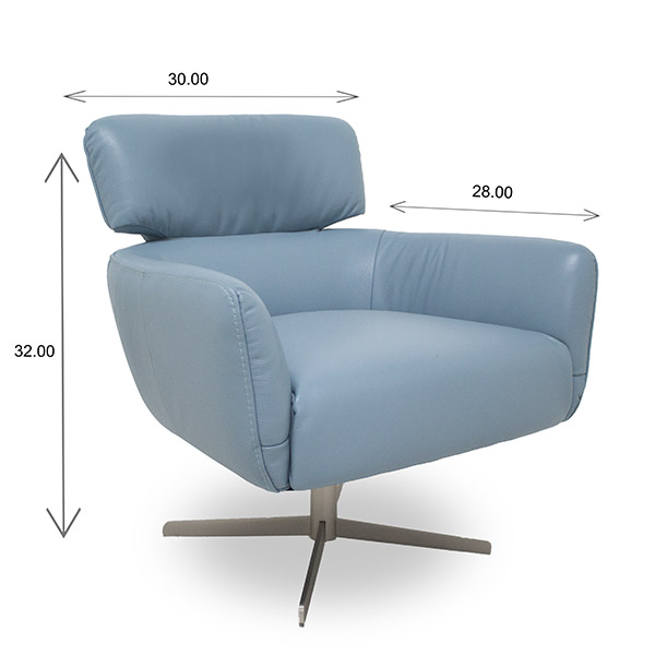 Haley Chair Dimensions