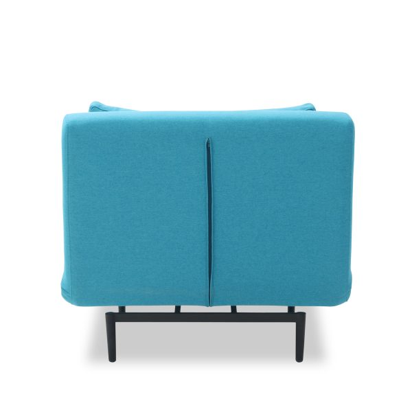 Oslo Chair Bed Teal Back