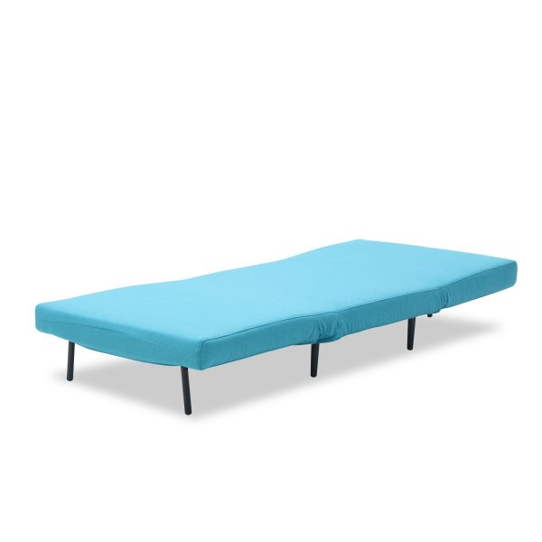 Oslo Chair Bed Teal Flat