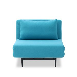 Oslo Chair Bed Teal Front