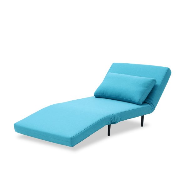 Oslo Chair Bed Teal Lounge