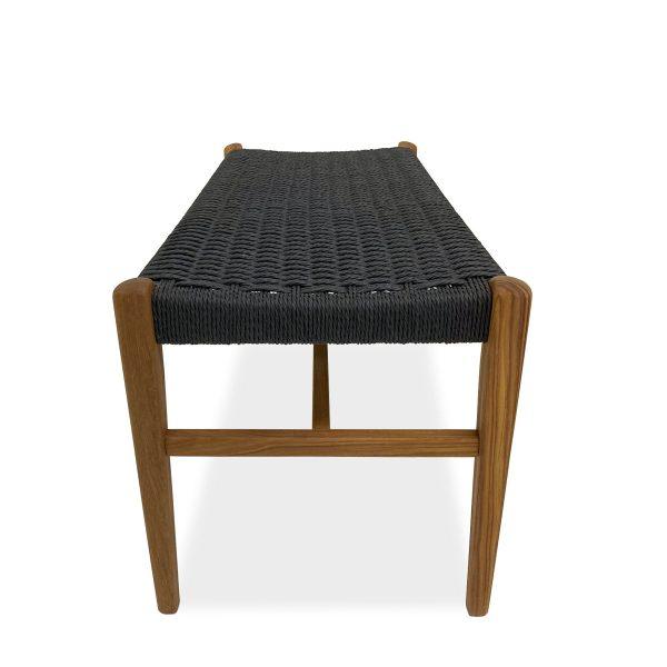 Sun Cabinet 7004 Bench in Teak, Side