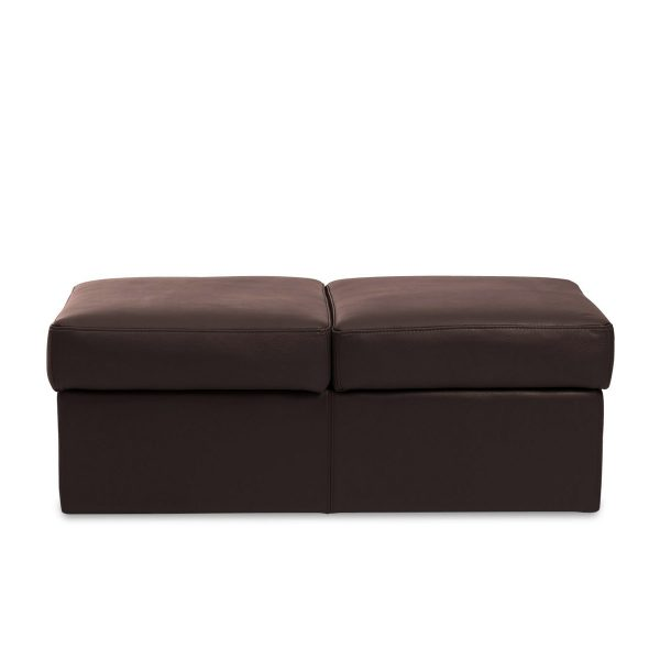 IMG DPALLHC Ottoman in Trend Chocolate Leather