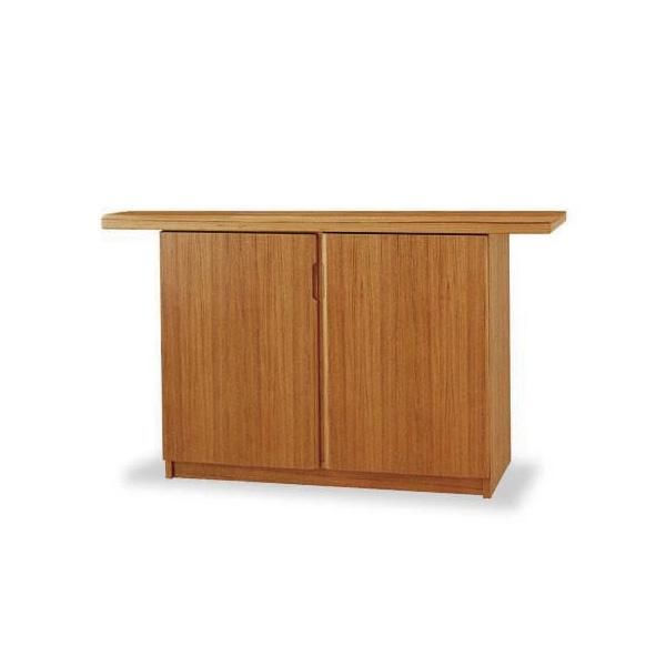 Sun Cabinet 215020 Sideboard in Teak, Front