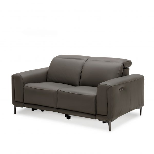 Cardero Loveseat in Dark Grey M55, Angle